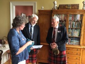 Anne Humphries, John and Andrew Marjoribanks