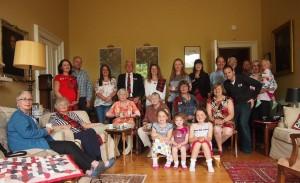 Clan Marjoribanks Society members at 2014 gathering