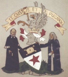 Original arms of the chief of the Marjoribanks Clan